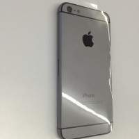 Корпус для Apple iPhone 5 (копия iPhone 6) серый