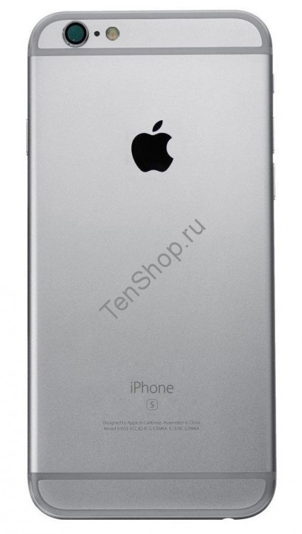 Корпус iPhone 6S черный (Space gray, Black)